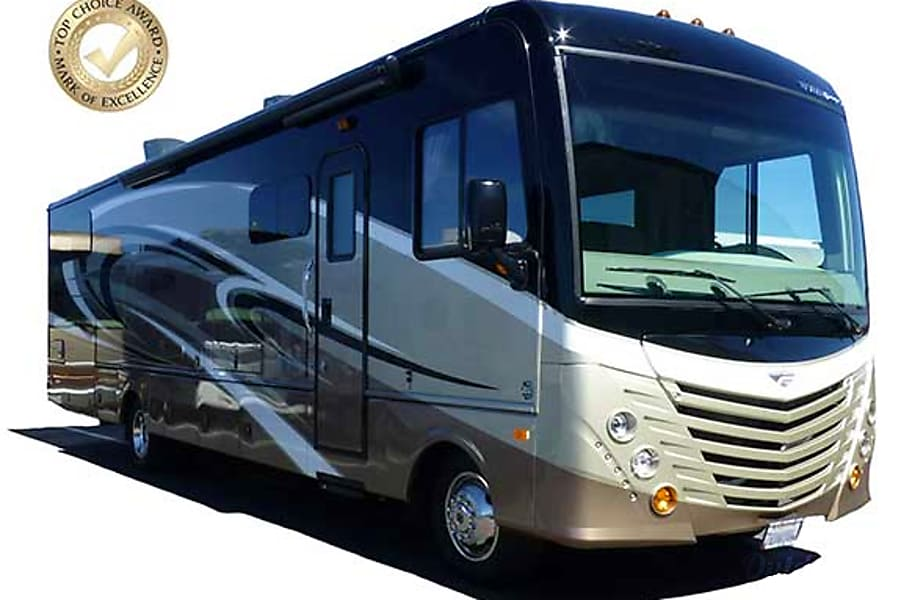 exterior 34' Fleetwood Storm with 2 Slide-Outs (54) San Marcos, CA