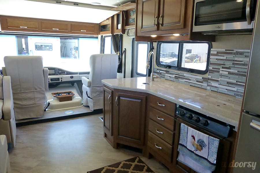 interior 34' Fleetwood Storm with 2 Slide-Outs (54) San Marcos, CA