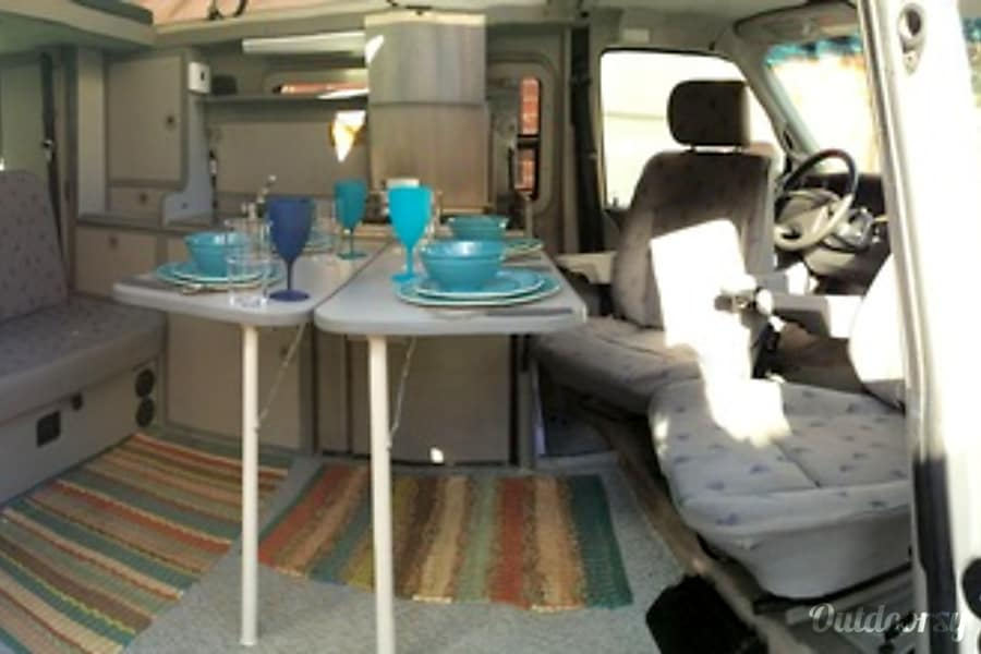 2001 Volkswagen Eurovan Full Camper Motor Home Camper Van