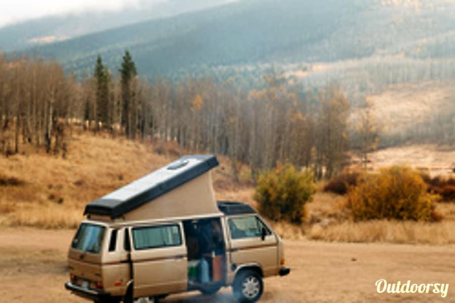 1986 Volkswagen Vanagon Mv Motor Home Camper Van Rental In Lakewood