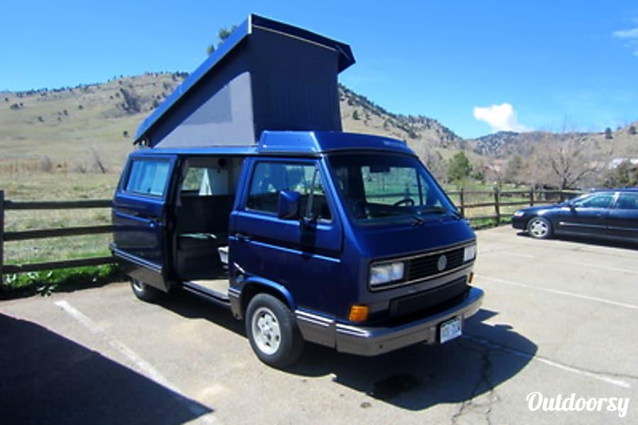 Blue Lightening - Volkswagen Vanagon MV Lakewood, CO