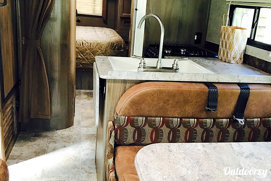 "interior 2017 Coachmen Freelander 27QB ""Dream Machine "" Sarasota, FL"