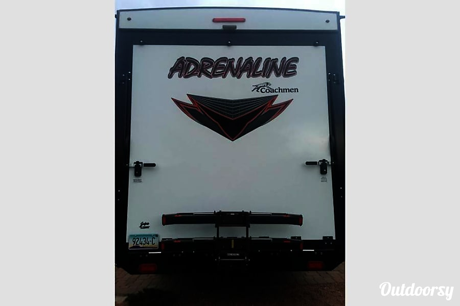 Let Us Deliver to you an Oasis in the High Desert:  2016 Coachmen Adrenaline 25' trailer with patio option Sedona, AZ