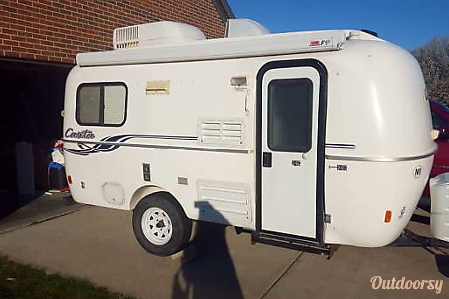2010 Casita 17' Spirit Deluxe Wilder, KY Sleek and Easy to Pull 17' Casista