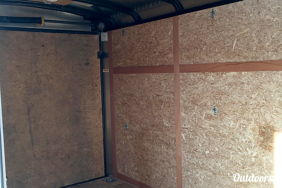 interior 2015 Haulmark 6X12 Cargo Trailer Pine City, NY