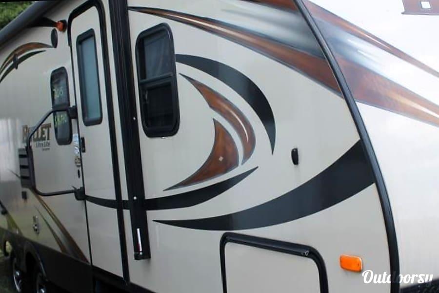 exterior 2015 Keystone Bullet Cornelius, NC