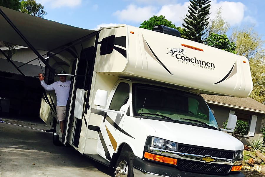 "exterior 2017 Coachmen Freelander 27QB ""Dream Machine "" Sarasota, FL"