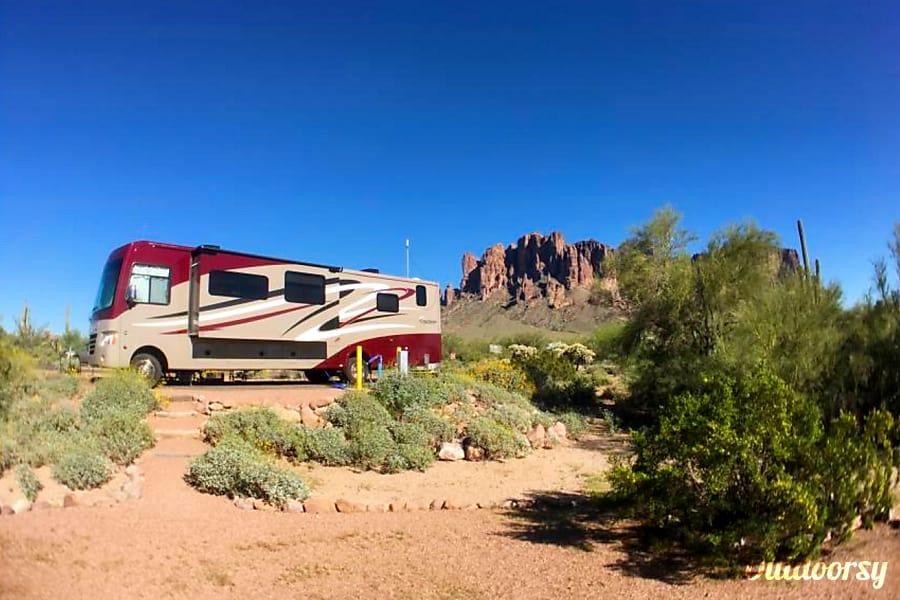 exterior 2015 Coachmen Mirada Chandler, AZ