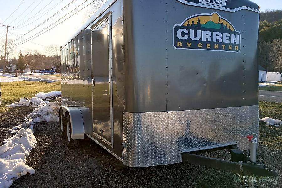 exterior 2015 Haulmark 7x16 7k Cargo Trailer Pine City, NY