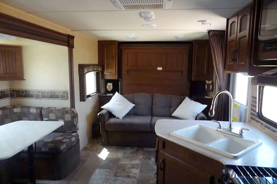 interior 2014 Jayco 23MBH White Hawk Scottsdale, AZ