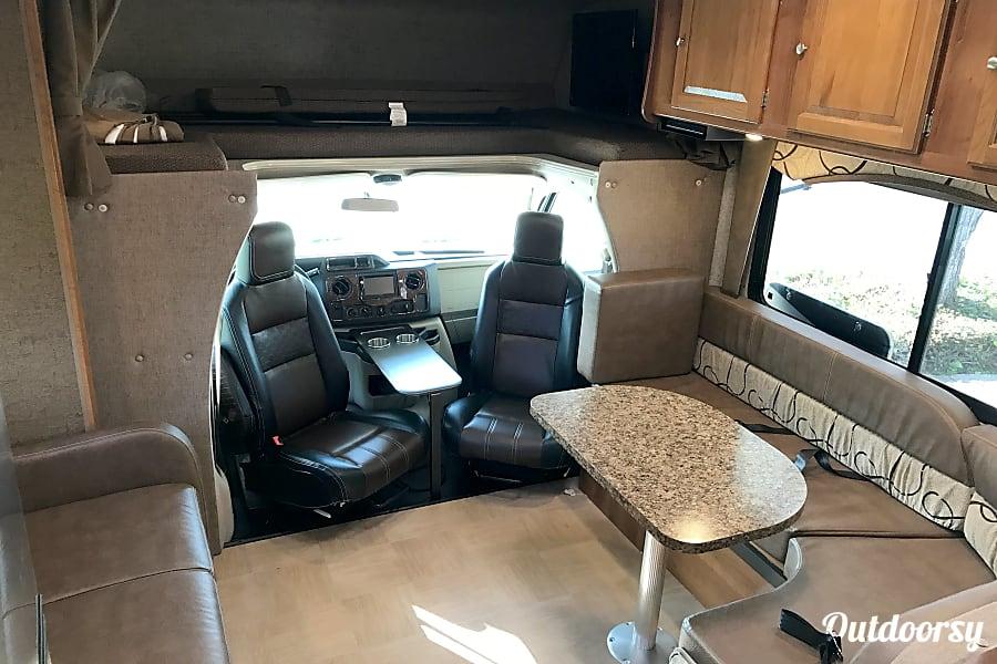 2017 Coachmen Leprechaun San Jose, CA Living Area