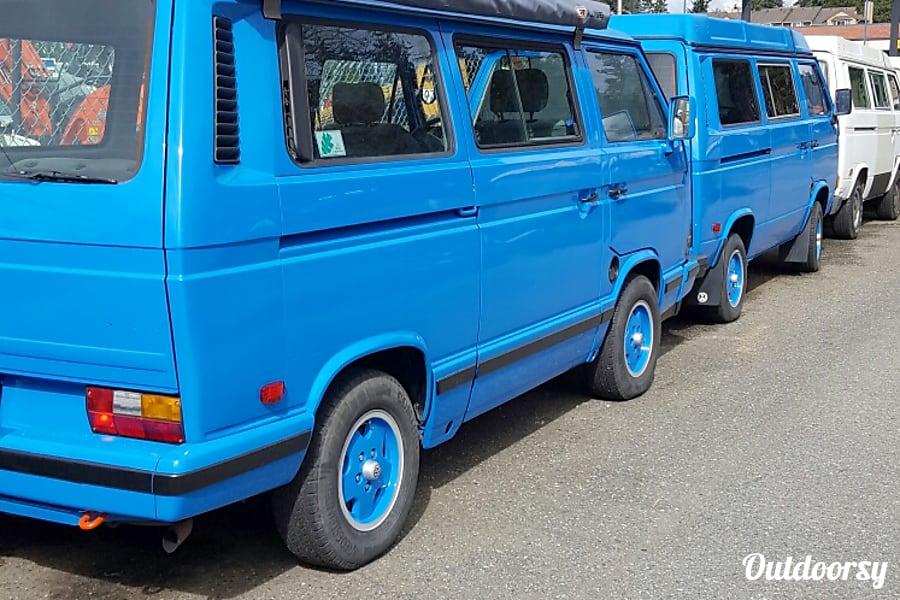 """exterior 1988 Volkswagen Vanagon Carat  """"Stargazer"""" Renton, WA"""