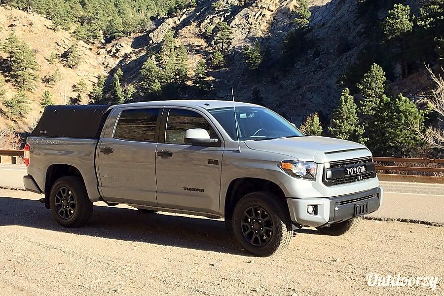 exterior 2017 Toyota Tundra TRD PRO Golden, CO
