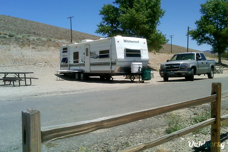 exterior 2004 Forest River Wildwood 27 ft trailer Gardnerville, NV