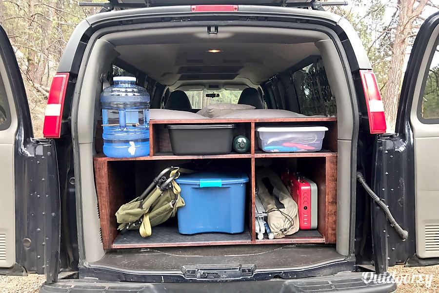 2010 Chevrolet Express Motor Home Camper Van Rental In Bend Or Outdoorsy