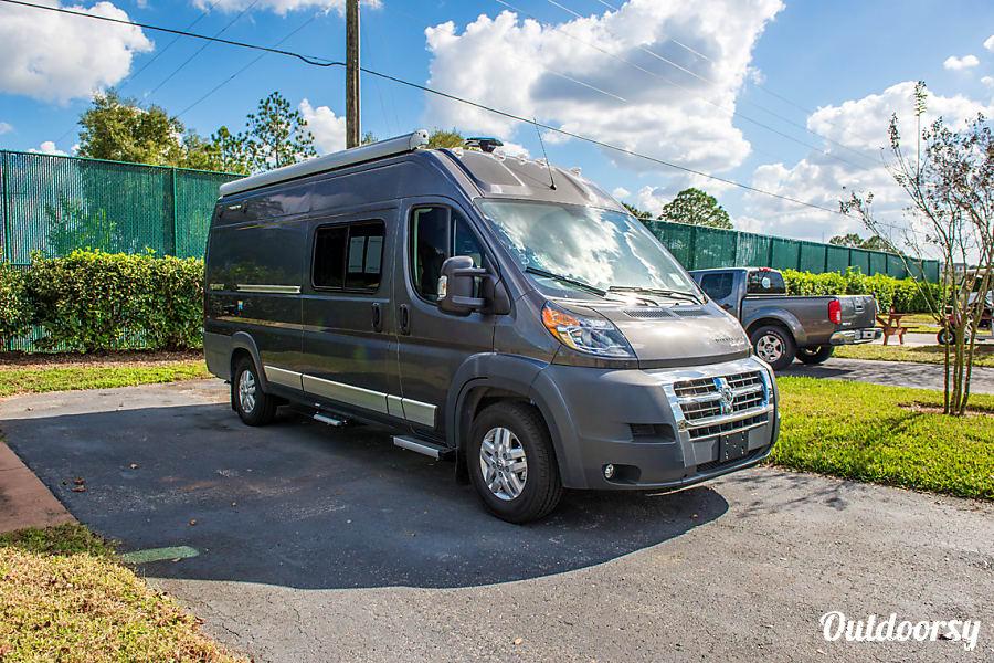 exterior 2017 Winnebago Travato 59K Seffner, FL