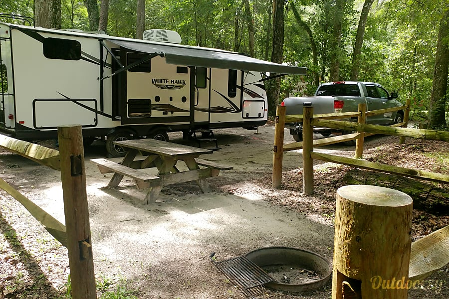 2016 Jayco Whitehawk 25BHS Cocoa, FL This could be you!!!  Florida State Parks are surprisingly inexpensive and clean.  Many can be found for $18 - $24 a night.  Visit www.FloridaStateParks.ReserveAmerica.com for details.