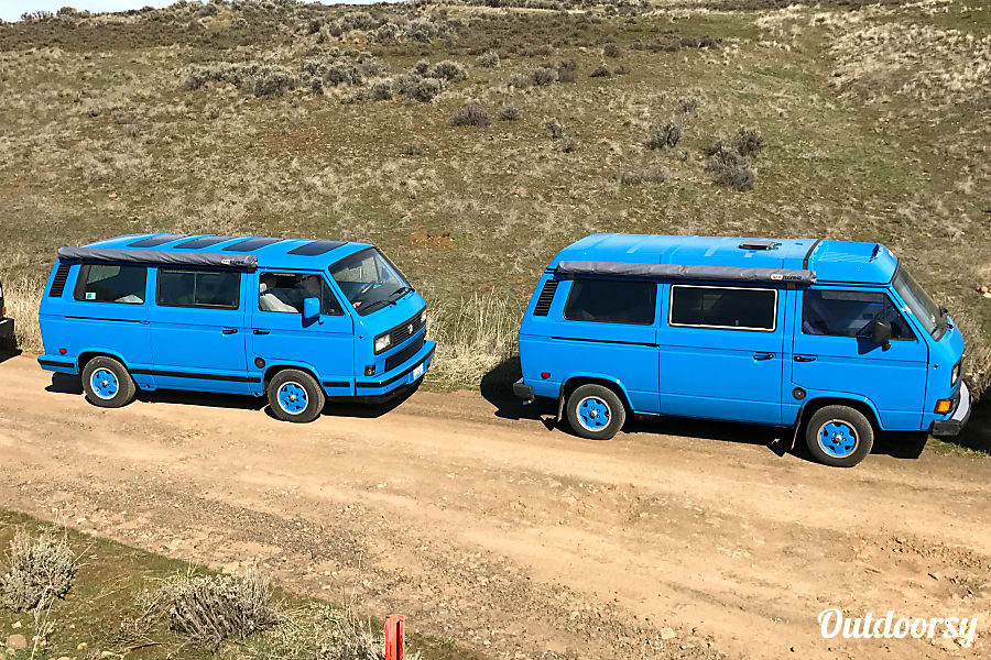 "1988 Volkswagen Vanagon Carat  ""Stargazer"" Renton, WA"