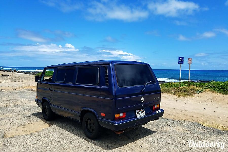 exterior Kailua Beach Wagon Kailua, HI