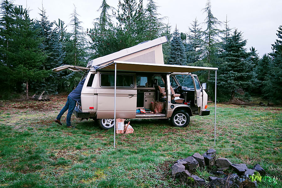 Peace Vans #2: Elwha - Vanagon Full Camper Seattle, WA