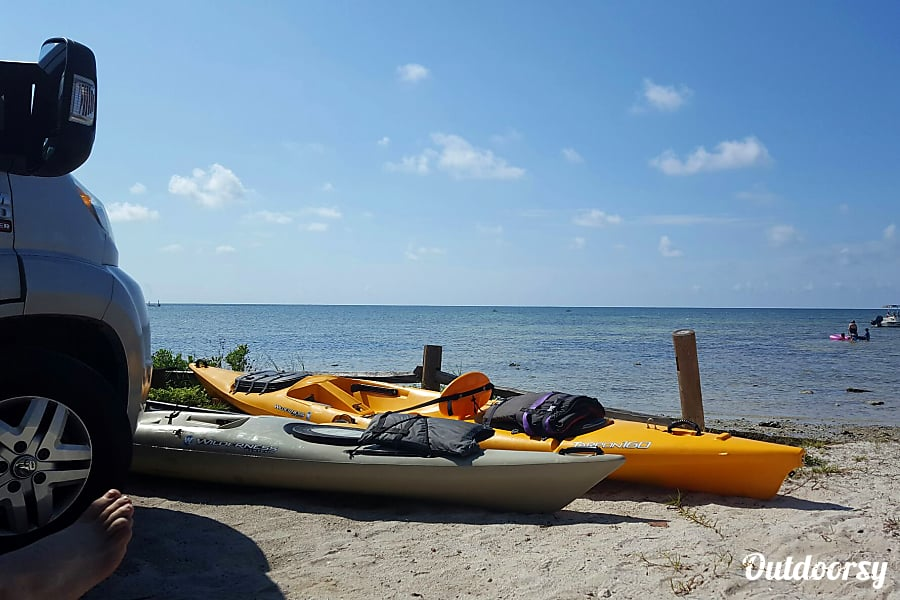 Meet Vivi, our 2014 Itasca Viva Lecanto, FL You can add these kayaks to your rental for an extra fee.  Vivi loves water fun!
