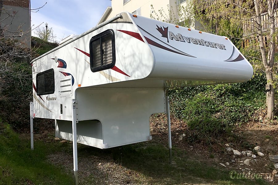 exterior 2016 Adventurer 80RB Truck Camper ONLY Cottonwood Heights, UT