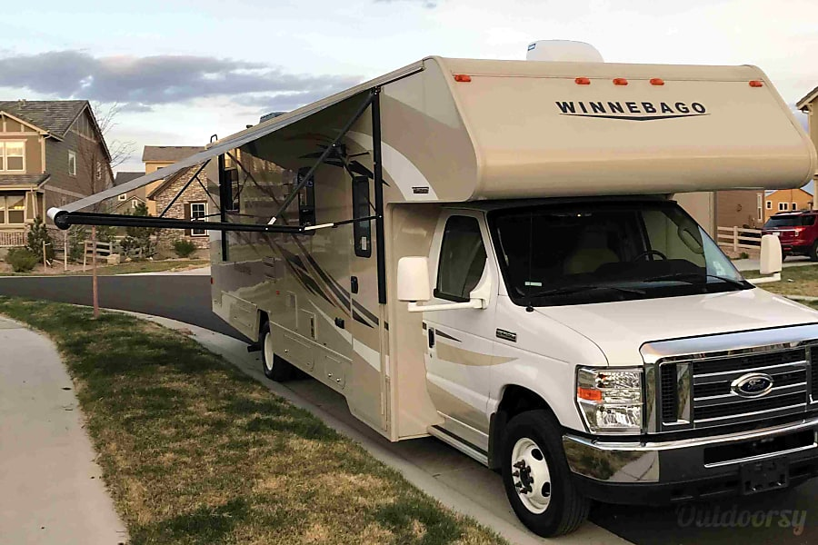 exterior GORGEOUS 2016, FULLY-EQUIPPED, 31' WINNEBAGO. READY-TO-GO FOR YOUR COLORADO VACATION! Broomfield, CO