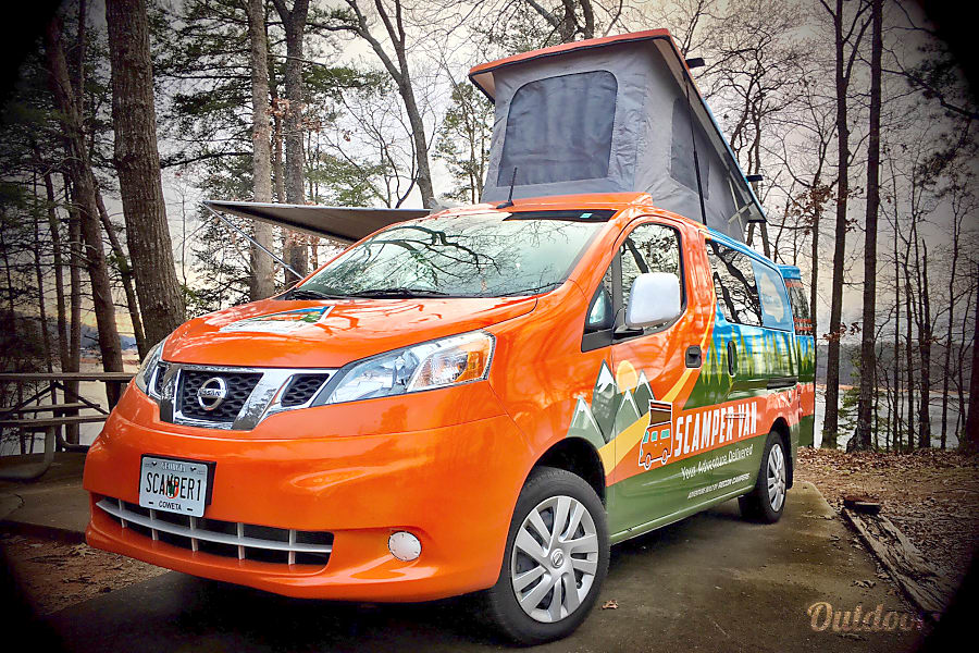 2017 Nissan NV 200 Motor Home Camper Van Rental In Atlanta GA