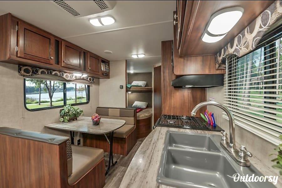 interior 2015 Heartland TrailRunner SLE25 Meridian, ID