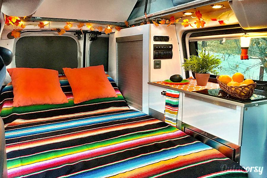 interior sCAMPer Van 2 Atlanta, GA