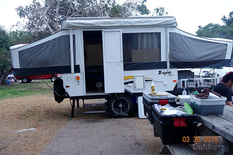 Solar equipped 2006 jayco baja 10 y Winchester, CA San Simeon Near Hearst Castle.