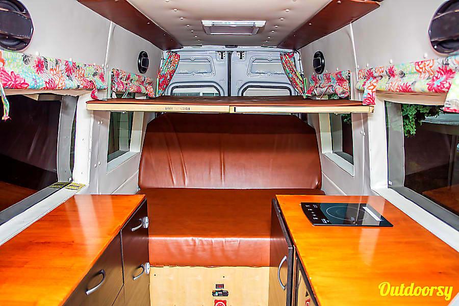 Seattle Mercedes Benz Sprinter Luxury Limo/RV Seats 8 Sleeps 8 Redmond, WA