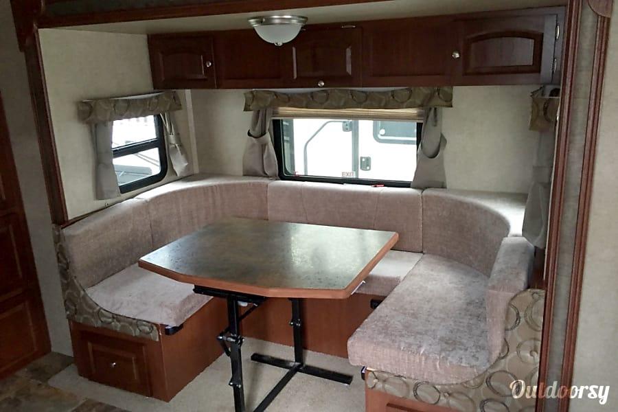 interior 2016 rockwood MiniLite 2104S Palm Coast, FL
