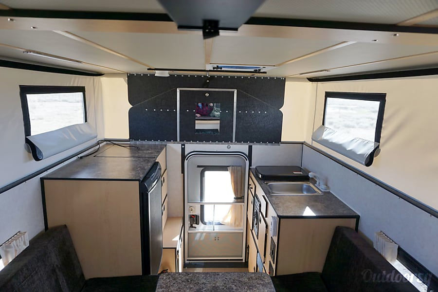 2015 Gmc Sierra Motor Home Truck Camper Rental In Jackson