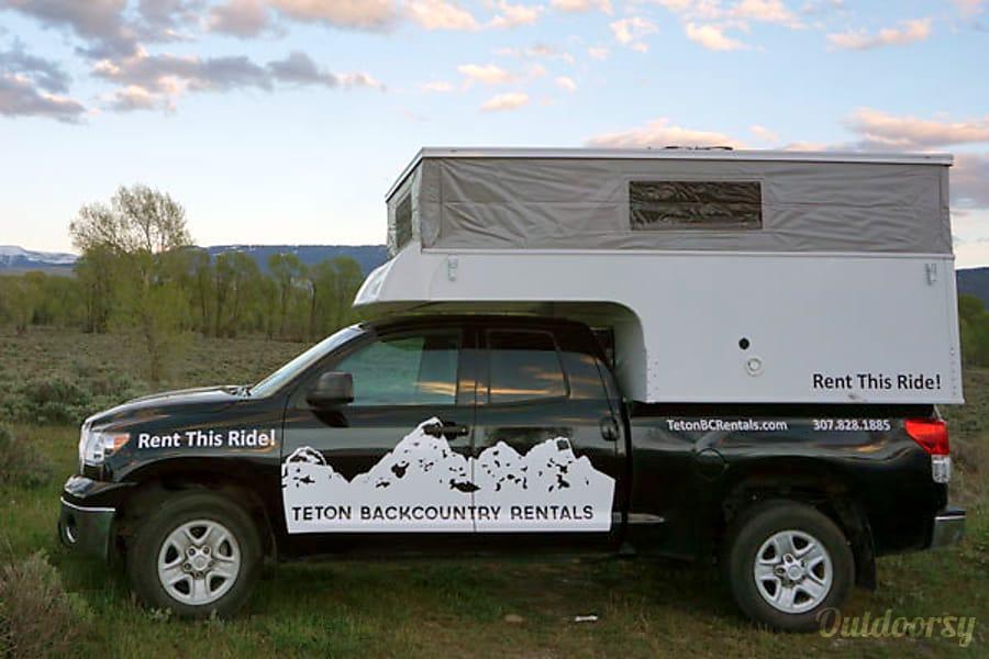 Phoenix Pop up Camper on Toyota Tundra Jackson, WY