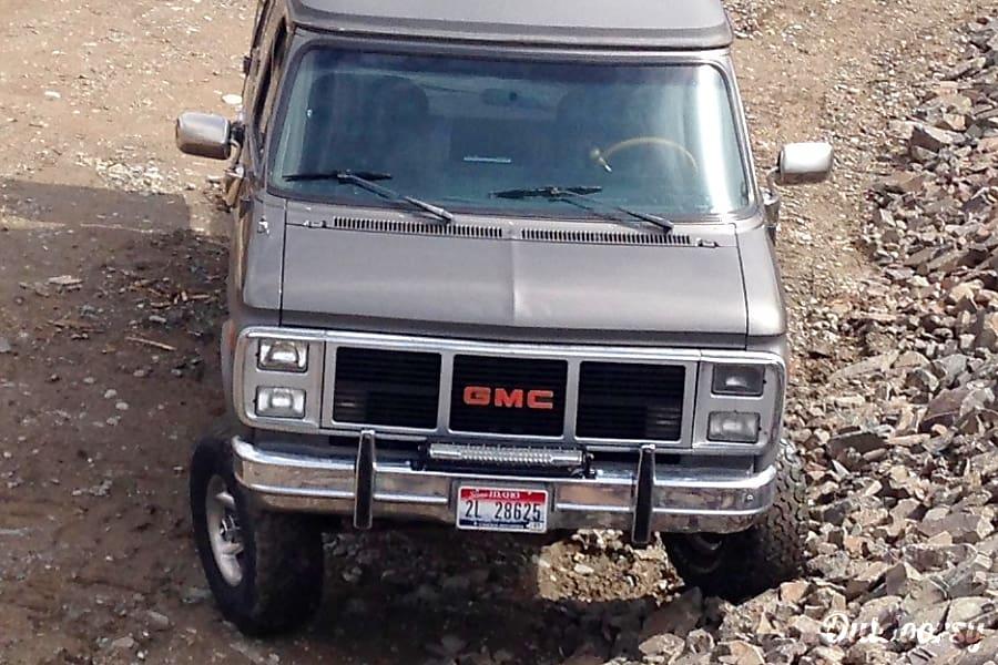 1991 Gmc Vandura Motor Home Camper Van Rental In Salmon Id Outdoorsy
