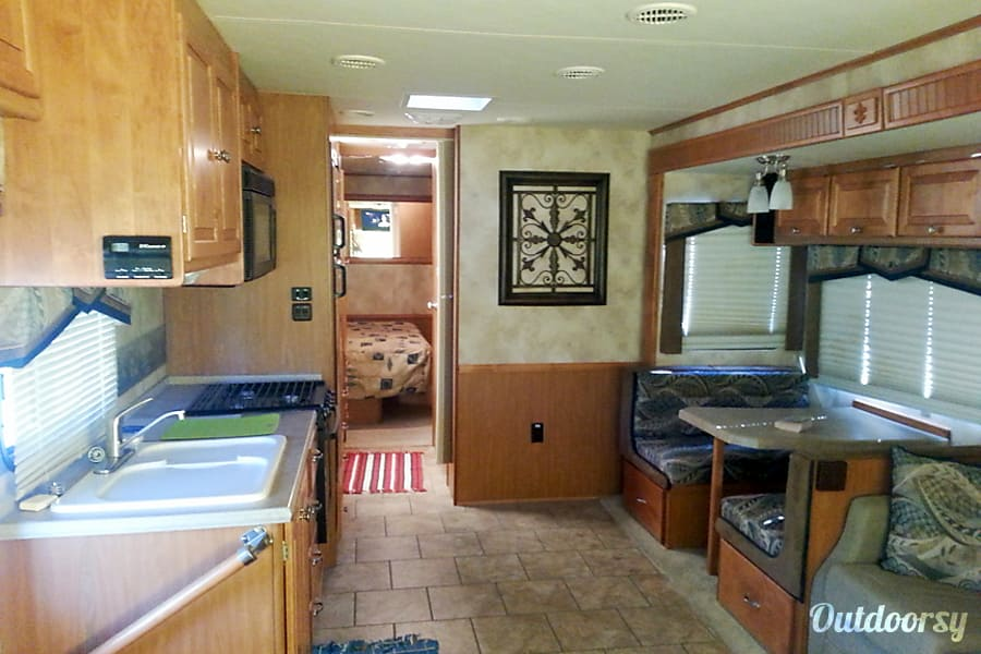 Many Happy Adventures - 32 Footer - Sleeps 4 Adults + 2 Kids Tucson, AZ Another Shot of the Spacious Living Area. Room for Everyone.