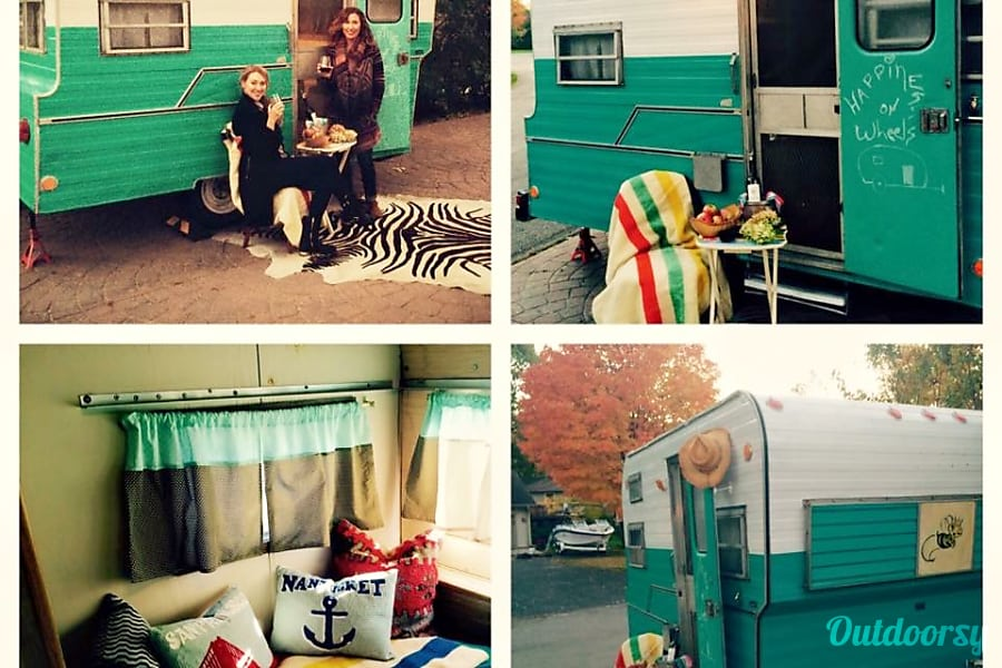 Betty, The Vintage BeeLine Camper Excelsior, MN Betty is Great for Photo Shoots!
