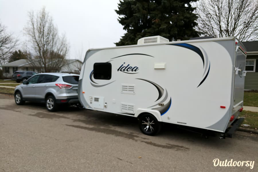 exterior Travel Lite Idea i16 - Perfect for the small family or couple camping experience Milton, WI