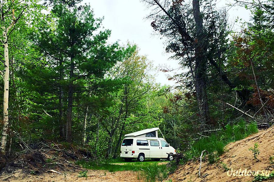 exterior 1997 Volkswagen Eurovan Winnebago Camper Ypsilanti, MI