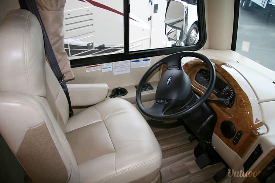 2017 Thor Motor Coach A.C.E Monroe, WA Drivers seat
