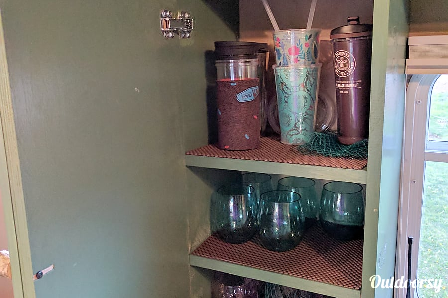 Doug Fir Portland, OR wine glasses, coffee mugs, water/other glasses