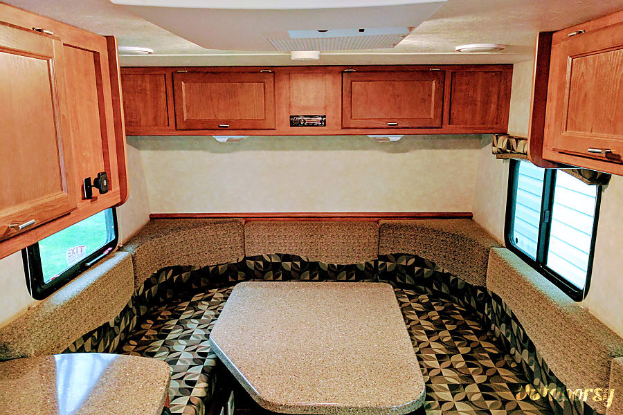 interior Travel Lite Idea i16 - Perfect for the small family or couple camping experience Milton, WI