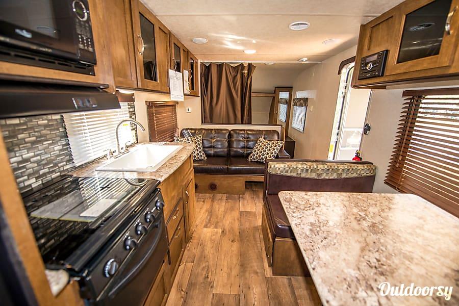 interior 2017 Forest River Wildwood X-Lite 261BHXL Tucson, AZ