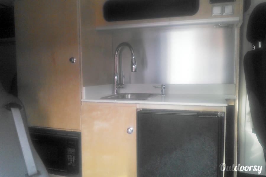 interior SUMPVEE V3.15 Custom PROMASTER Camper van Mills River, NC