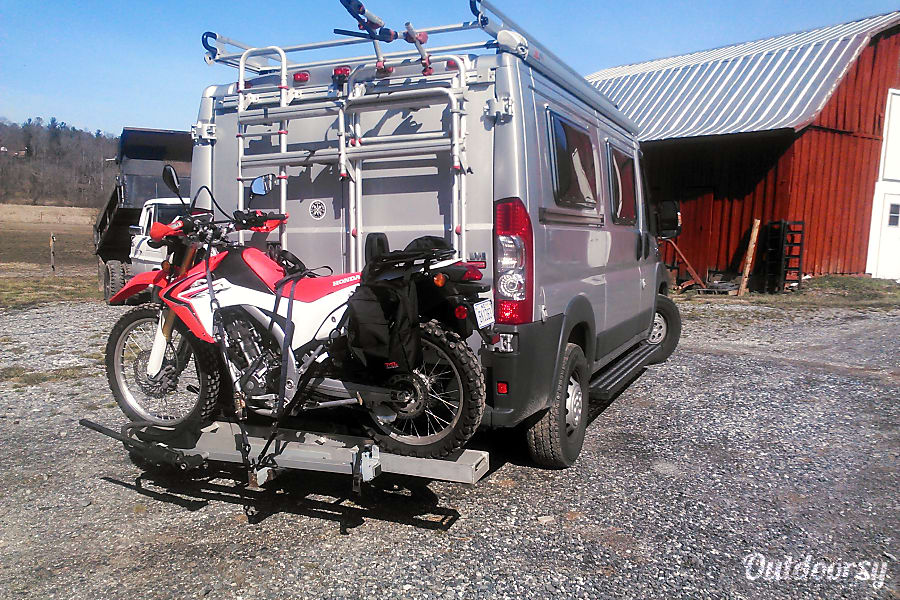 exterior SUMPVEE V3 Custom PROMASTER Camper van Mills River, NC