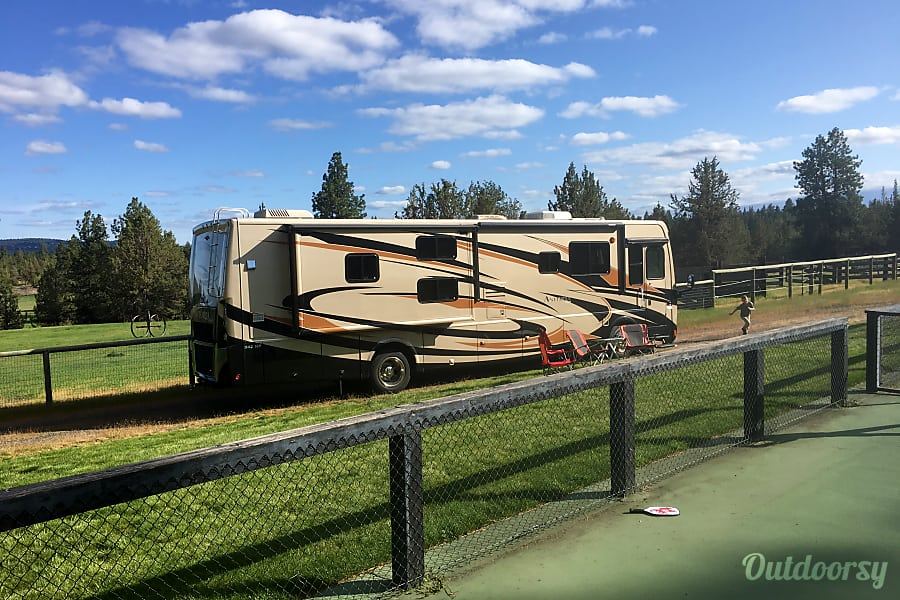 Invest a little more and transform the trip experience. Class A, SLEEPS 8, low miles, 3 slides, Diesel Pusher. Very smooth to drive. Bend, OR