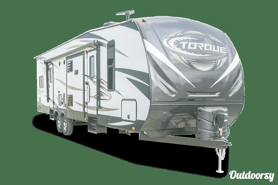 exterior 2017 Heartland Torque T32 Toy Hauler Midland, NC