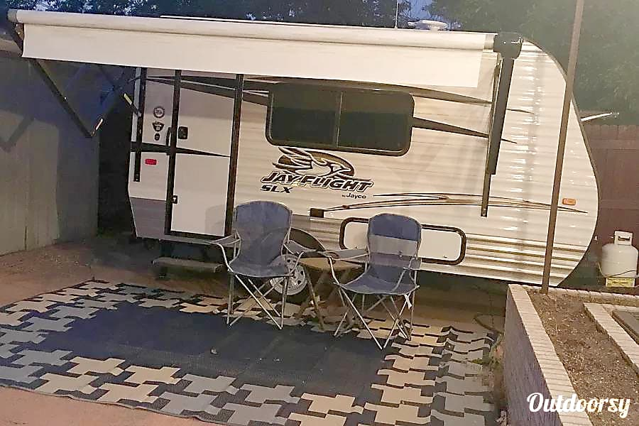 exterior 2017 Jayco Jay Flight SLX 145RB Seal Beach, CA