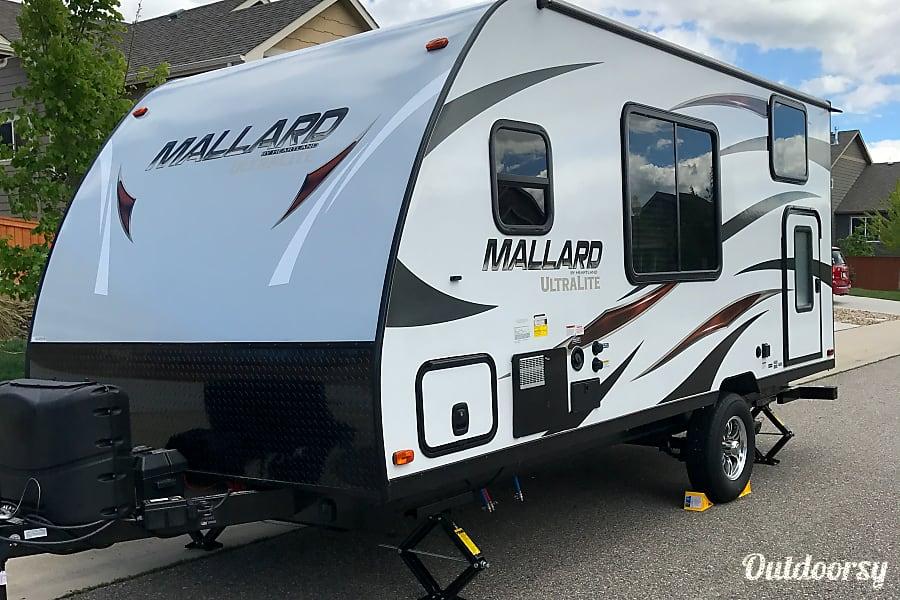 exterior 2018 Heartland Mallard M185 Loveland, CO